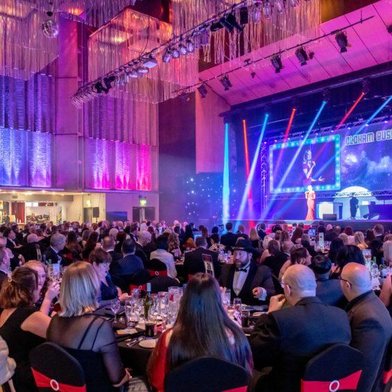 Awards at QE Hall