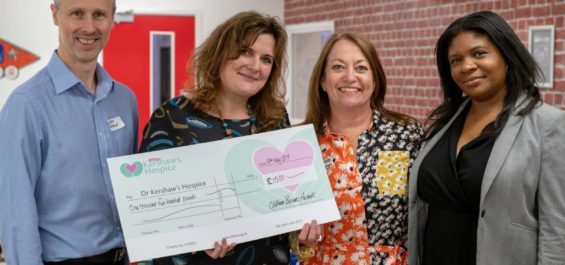 Pearson Solicitors & Financial Advisers, joined awards steering group members to present a £1,500 donation